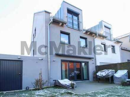 Exklusives Wohnen für Familien: Moderne DHH mit Garten, Terrasse und Seeblick in Ebersberg!