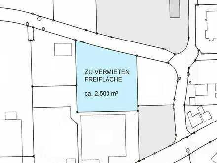 2.500 m² erschlossene Freifläche in repräsentativer Lage im Dettinger Gewerbegebiet