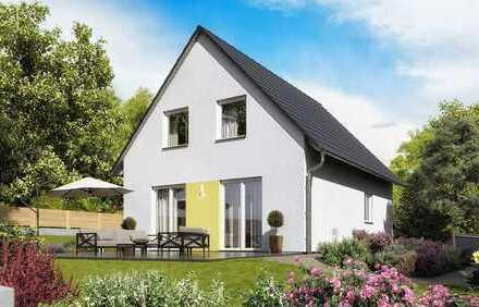 Lorsch-Stadthaus-freistehend-Neubau mit Grundstück in Zentrumsnähe KfW 55 Standard-provisionsfrei