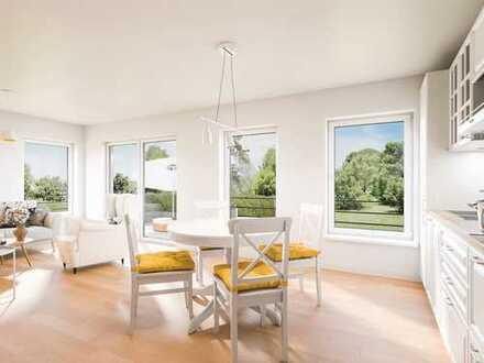 Lebensräume für Ideen im Neubau! Moderne 3-Zimmer-Wohnung mit Terrasse, Tiefgarage, Fußbodenheizung