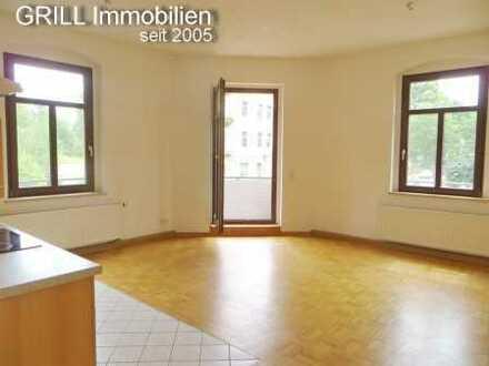 2R-ETW mit Balkon * EBK * Parkett * Stellplatz im Hof des Gebäudes * Bad mit Fenster * Abstellraum