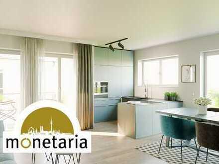 Provisionsfreie 2-Zi-Wohnung mit großem Wohn-/Essbereich & gleich 2 Terrassen