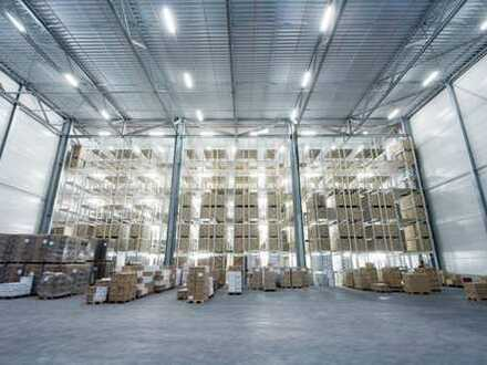 """""""BAUMÜLLER & CO."""" - Nähe A6: ca. 10.000 m² NEUBAU-Logistikfläche - Rampe/ebenerdig"""