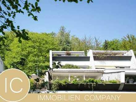 Großzügige, helle, 4-Zimmer-Terrassenwohnung in grüner Umgebung