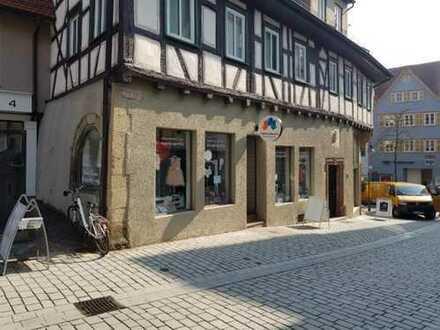 Attraktive Geschäftsräume mit exklusivem Ambiente in 2A Innenstadt-Lage in Waiblingen