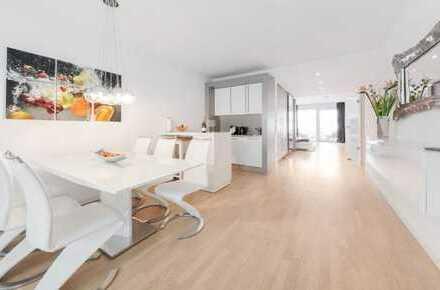 Schöne, helle Wohnung mit Loft-Charakter und Terrasse