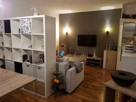 Helle 4-Zimmer-Wohnung mit Balkon und Küche in Rheine, 01.03.19