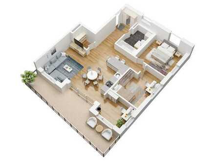 Haus Urban Alps - 3- Zimmer Wohnung in ruhiger Lage **KfW 40+** - Auch als Kapitalanlage geeignet