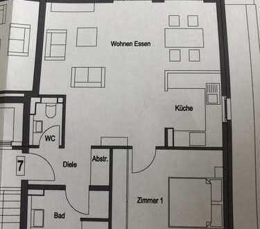 Erstbezug mit Balkon: exklusive 2-Zimmer-Dachgeschosswohnung in Kaarst