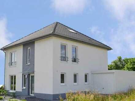 Gesicherte Qualität und Güte - Neubauvorhaben freistehendes Einfamilienhaus Typ 1050