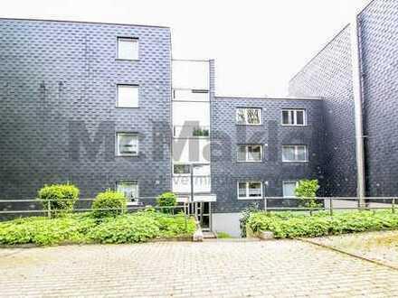 Attraktive Erdgeschosswohnung mit Balkon und Blick ins Grüne