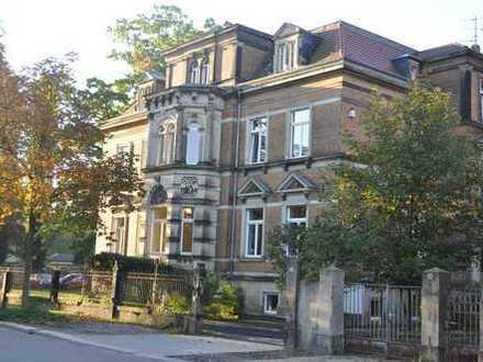 Großer Garten: 4-Zimmer Maisonette-/Altbauwohnung nähe Universität auch Büro/Kanzlei/Praxis