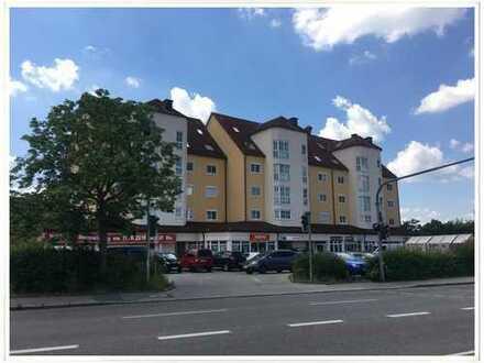 Lebensmittelladen an stark frequentierter Ausfallstraße in Schwabach