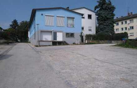 Neuhaus am Inn: Gewerbehallen mit Laderampe + Parkplätze zu verkaufen