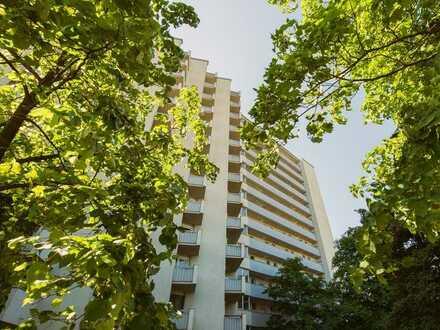 Single Apartment im Hochhaus in Grunewald