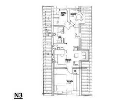 N3: Ideal für Single oder Paare - 2-Zimmer-Wohnung