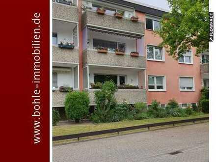 Klasse 3 Zimmerwohnung mit Balkon und Garage im Zentrum von Datteln!!!