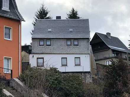 Urtypisches Einfamilienhaus in Schneeberg