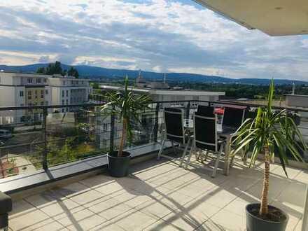 Penthouse 4-Zimmer große Dachterrasse Taunusblick *provisionsfrei*