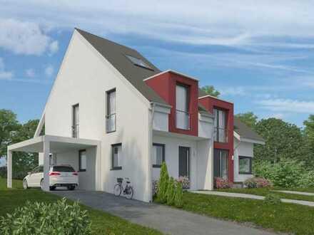 Neubauprojekt in Alfter- schöne Doppelhaushälfte in Halbhöhenlage