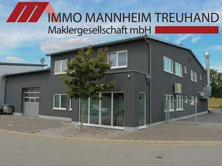 **Modernes und sehr gepflegtes Gewerbeanwesen mit großzügigen Büro- und Lagerflächen**