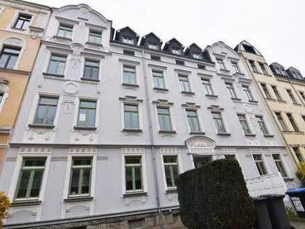Wunderschöne 3-Raum-Wohnung mit Balkon und EBK am Rande des Kaßberges!