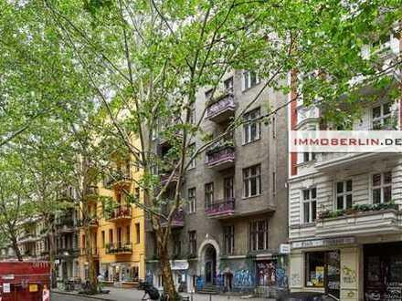 IMMOBERLIN: Top-Kiezlage! Große Altbauwohnung mit faszinierendem Potential