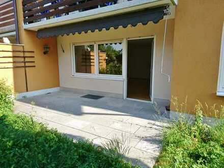 3-Zimmer-Erdgeschosswohnung mit 2 Terrassen Garten in Fürstenfeldbruck ck