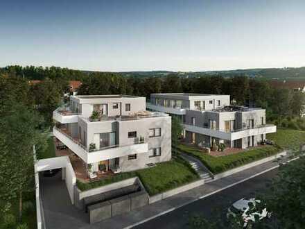 großzügige Wohnung in Süd-/Westausrichtung mit Terrasse und Garten