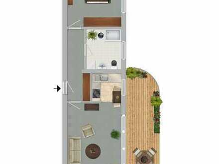 hochwertiges Wohnen in sehr ruhigem Haus, Duscheinbau möglich!