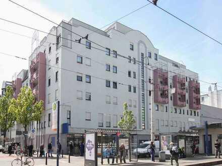 Vermietete Gewerbeetage mit bonitätsstarkem Mieter im Mannheimer Zentrum