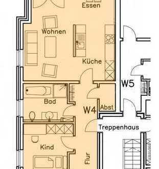 Neuwertige 3-Zimmer-Wohnung mit Balkon in Vreden