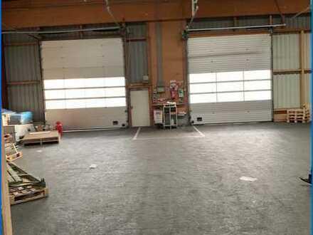 Halle mit 2.235 qm - Industriegebiet Singen mit zusätzichem Büro/Verkaufsraum zu vermieten !