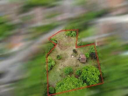 Ein Grundstück mit verschiedenen Baumöglichkeiten
