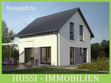 Frust? Kein Grundstück? Neubau-DHH nach eigener Planung auf schönem Grundstück in Alzenau-Michelb.