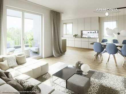 ***Großzügig wohnen*** Elegante Dachterrassenwohnung mit 2 Zimmern und offener Wohnküche