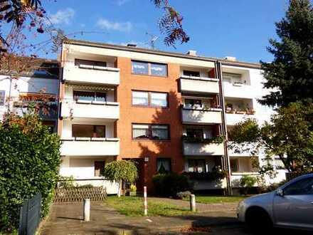 Mit Balkon: Helle, vermietete 3-Zimmerwohnung in Leinhausen