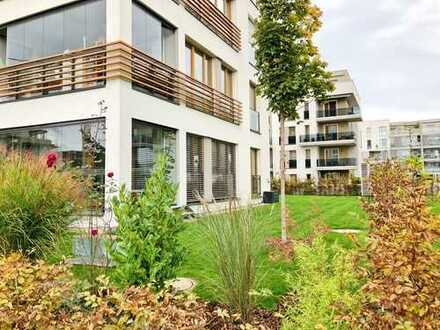 4-Zi-Wohnung mit großzügigem 305qm Garten in Riedberg