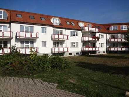 Wohnen im Grünen in Zedtlitz bei Borna - Sehr schöne 2-Raum-Wohnung mit Balkon