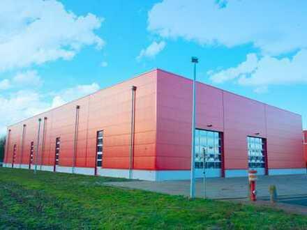 Hallenneubau für Produktion und Lager an der A1