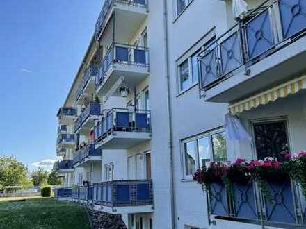 Gepflegte 3-Zimmer-Erdgeschosswohnung mit Balkon und Einbauküche in Emmendingen