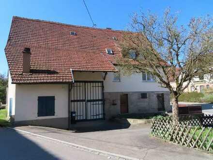 Charmantes Bauernhaus in Mittelstadt zu vermieten