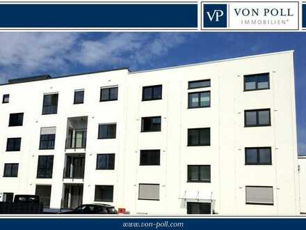 Neubau Erstbezug - attraktive 3 Zimmer-Wohnung mit Balkon und offener Küche
