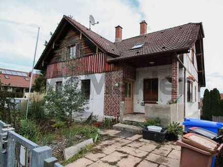 Gestalten Sie Ihr neues Zuhause: Großzügiges 6-Zi.-EFH mit Balkon und Garten südlich von Augsburg