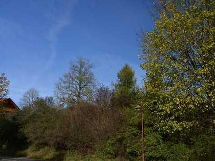 Grundstück mit sonnigem Ausblick