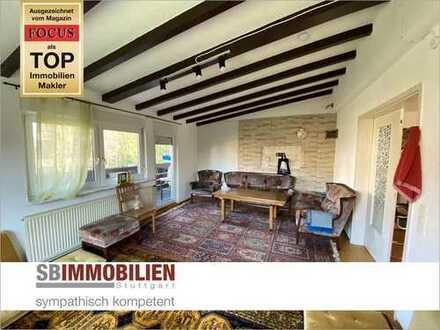 Alternative zum Haus! 5-Zi-Wohnung in 2-Fam.haus mit ca. 167,8 qm und großem Garten