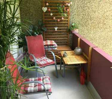 Geräumige 3-Zimmer Wohnung mit Balkon und Blick ins Grüne