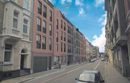 Neubau 4 Zimmer-Wohnung mit 21m² Südterrasse im Königsquartier Neuss!