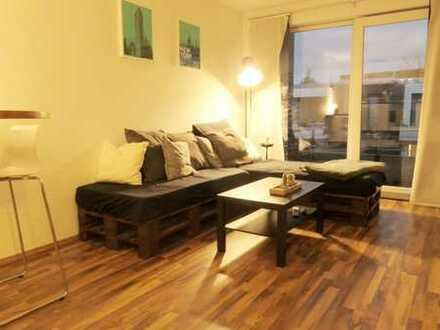 KUBOX-Apartment in Uninähe mit Balkon und Einbauküche