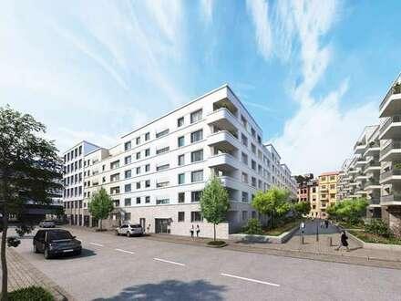 Attraktive 3 Zi.-ETW mit 2 Balkonen in verkehrsberuhigter Spielstraße